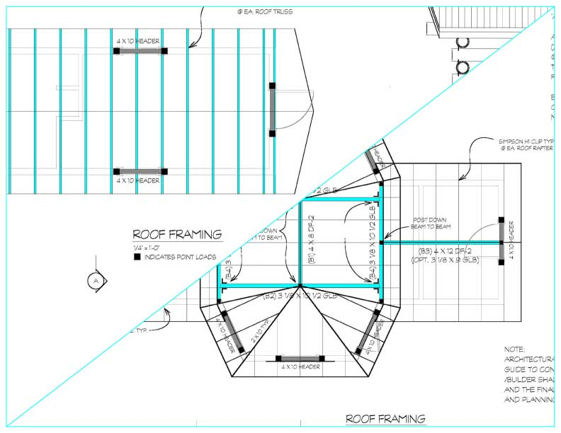 Coffee drive thru plans what 39 s included for How to order roof trusses